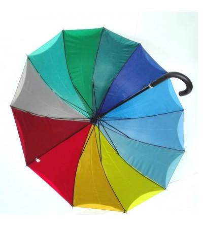 Paraguas automatico de mujer doble tela colores interior.El apropiado para pintar.